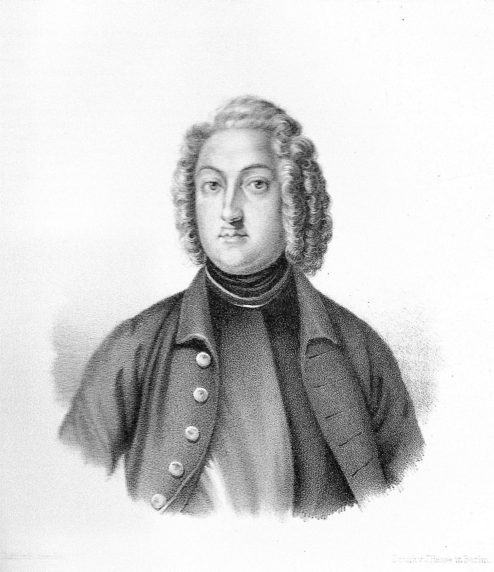 Ernst Detlof von Krassow, Erbauer des Schlosses
