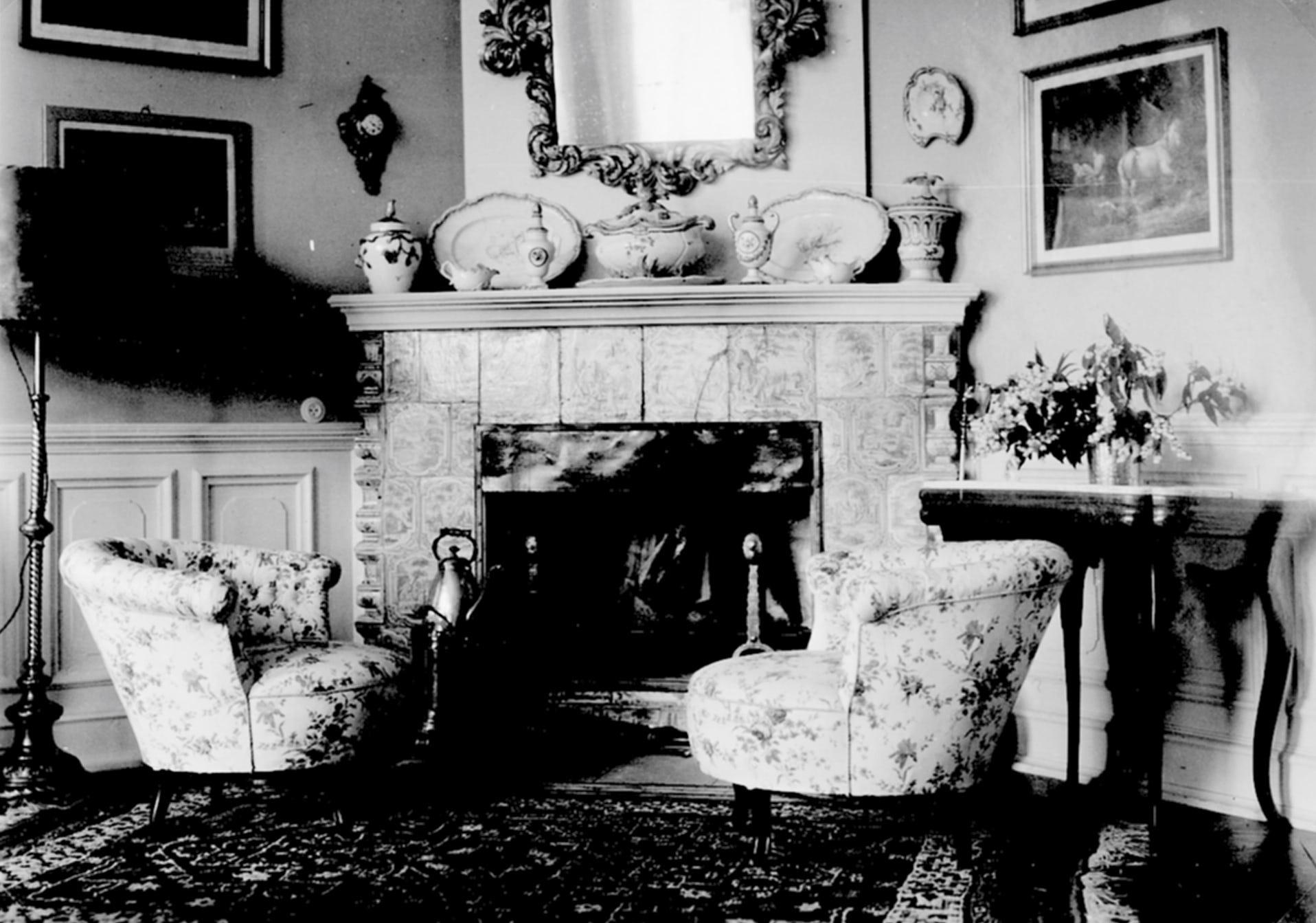 Das blaue Zimmer um 1934